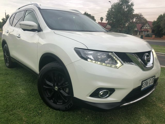 Used Nissan X-Trail T32 ST-L X-tronic 4WD Hindmarsh, 2015 Nissan X-Trail T32 ST-L X-tronic 4WD White 7 Speed Constant Variable Wagon