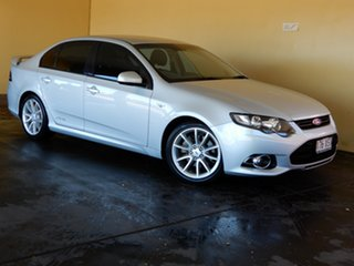 2013 Ford Falcon FG MK2 XR6T Silver 6 Speed Auto Seq Sportshift Sedan