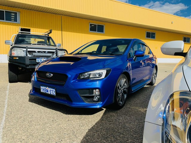 Used Subaru WRX V1 MY15 Premium AWD Canning Vale, 2014 Subaru WRX V1 MY15 Premium AWD Blue 6 Speed Manual Sedan