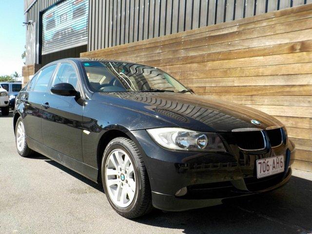 Used BMW 3 Series E90 320i Steptronic Executive Labrador, 2007 BMW 3 Series E90 320i Steptronic Executive Black 6 Speed Automatic Sedan