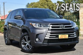 2017 Toyota Kluger GSU50R GX 2WD Grey 8 Speed Sports Automatic Wagon.