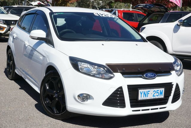 Used Ford Focus LW MkII MY14 Sport Phillip, 2014 Ford Focus LW MkII MY14 Sport White 5 Speed Manual Hatchback