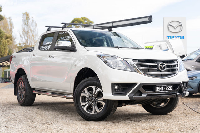 Used Mazda BT-50 UR0YG1 XTR Mornington, 2020 Mazda BT-50 UR0YG1 XTR White 6 Speed Sports Automatic Utility
