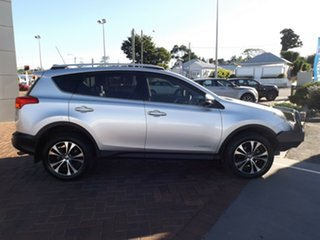 2014 Toyota RAV4 ALA49R MY14 Cruiser AWD Silver 6 Speed Sports Automatic Wagon.