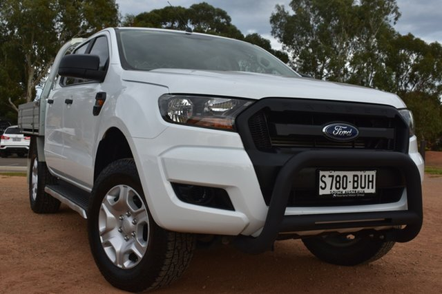 Used Ford Ranger PX MkII 2018.00MY XL Hi-Rider St Marys, 2018 Ford Ranger PX MkII 2018.00MY XL Hi-Rider White 6 Speed Sports Automatic Utility