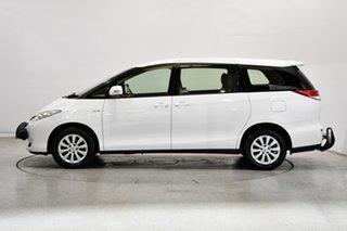 2015 Toyota Tarago GSR50R MY13 GLi White 6 Speed Sports Automatic Wagon.