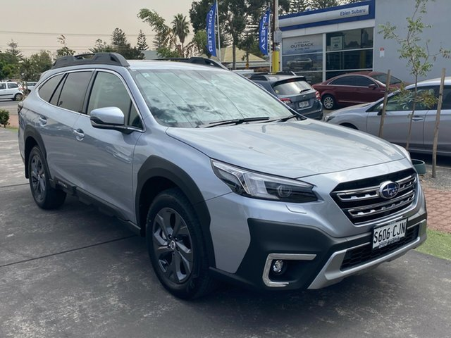 Demo Subaru Outback B7A MY21 AWD CVT Glenelg, 2021 Subaru Outback B7A MY21 AWD CVT Ice Silver 8 Speed Constant Variable Wagon