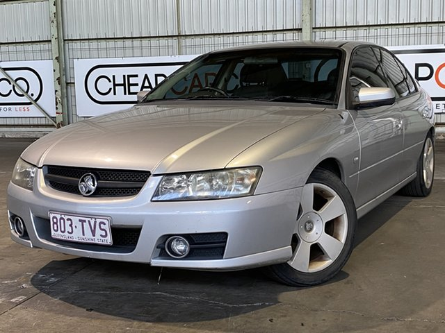 Used Holden Commodore VZ MY06 SVZ Rocklea, 2006 Holden Commodore VZ MY06 SVZ Silver 4 Speed Automatic Sedan