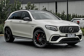 2018 Mercedes-Benz GLC-Class C253 809MY GLC63 AMG Coupe SPEEDSHIFT MCT 4MATIC+ S White 9 Speed