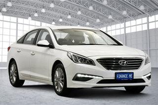 2015 Hyundai Sonata LF Active White 6 Speed Sports Automatic Sedan.