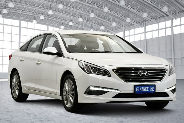 Used Hyundai Sonata LF Active Victoria Park, 2015 Hyundai Sonata LF Active White 6 Speed Sports Automatic Sedan