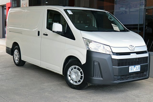 Pre-Owned Toyota HiAce KDH201R LWB South Morang, 2019 Toyota HiAce KDH201R LWB White 4 Speed Automatic Van