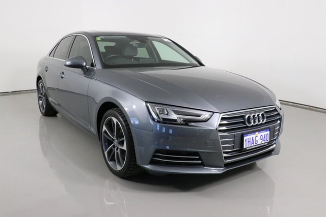 Used Audi A4 F4 MY17 (B9) 2.0 TFSI S Tronic Sport Bentley, 2017 Audi A4 F4 MY17 (B9) 2.0 TFSI S Tronic Sport Graphite 7 Speed Auto Dual Clutch Sedan