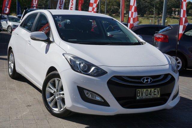Used Hyundai i30 GD Elite Phillip, 2013 Hyundai i30 GD Elite White 6 Speed Sports Automatic Hatchback