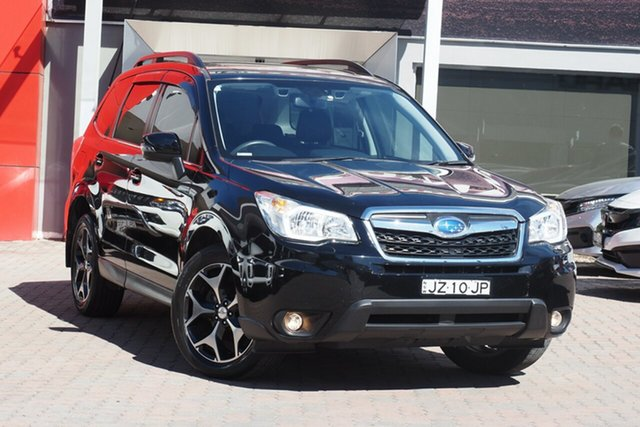 Used Subaru Forester S4 MY15 2.5i-S CVT AWD Parramatta, 2015 Subaru Forester S4 MY15 2.5i-S CVT AWD Grey 6 Speed Constant Variable Wagon