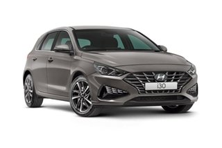 2020 Hyundai i30 PD.V4 MY21 Elite Silver 6 Speed Sports Automatic Hatchback
