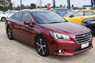 2016 Subaru Liberty B6 MY16 2.5i CVT AWD Premium Red 6 Speed Constant Variable Sedan.