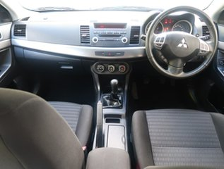 2012 Mitsubishi Lancer CJ MY12 ES Grey 5 Speed Manual Sedan
