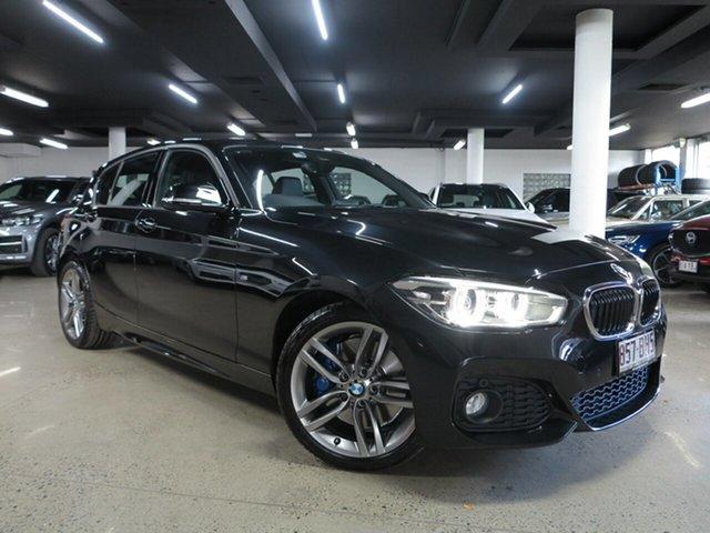 Used BMW 1 Series F20 LCI 125i M Sport Albion, 2015 BMW 1 Series F20 LCI 125i M Sport Sappireblack 8 Speed Sports Automatic Hatchback