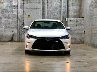 2015 Toyota Camry ASV50R Atara SX White 6 Speed Sports Automatic Sedan.