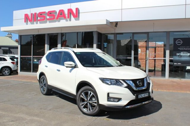 Demo Nissan X-Trail T32 MY21 ST-L X-tronic 4WD Hamilton, 2021 Nissan X-Trail T32 MY21 ST-L X-tronic 4WD Ivory Pearl 7 Speed Constant Variable Wagon