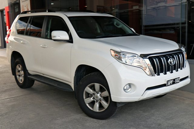 Pre-Owned Toyota Landcruiser Prado GDJ150R GXL Preston, 2017 Toyota Landcruiser Prado GDJ150R GXL White 6 Speed Sports Automatic Wagon