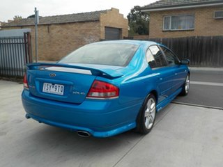 2003 Ford Falcon BA XR6 Blue 4 Speed Auto Seq Sportshift Sedan