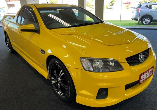 Used Holden Ute VE II MY12 SS Winnellie, 2011 Holden Ute VE II MY12 SS Yellow 6 Speed Manual Utility