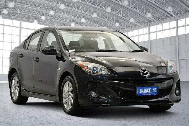 Used Mazda 3 BL1072 SP20 SKYACTIV-Drive SKYACTIV Victoria Park, 2012 Mazda 3 BL1072 SP20 SKYACTIV-Drive SKYACTIV Black 6 Speed Sports Automatic Sedan