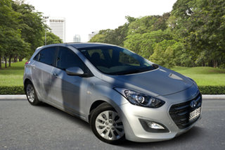 2015 Hyundai i30 GD3 Series II MY16 Active DCT Billet Silver 7 Speed Sports Automatic Dual Clutch.