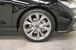 2021 Hyundai i30 PD.V4 MY21 N Line D-CT Black 7 Speed Sports Automatic Dual Clutch Hatchback