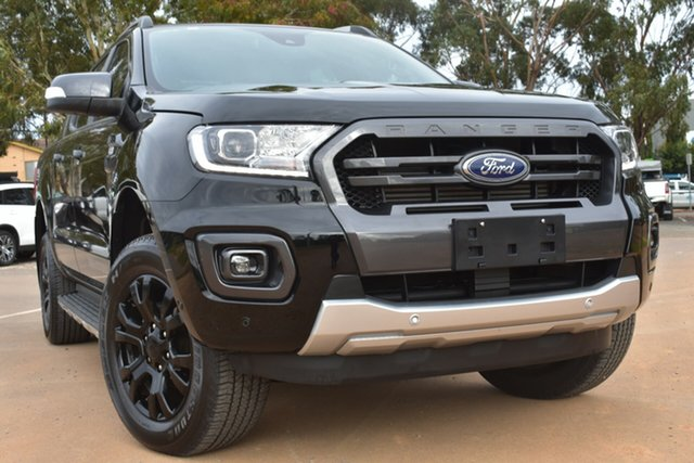 Used Ford Ranger PX MkIII 2020.75MY Wildtrak St Marys, 2020 Ford Ranger PX MkIII 2020.75MY Wildtrak Black 10 Speed Sports Automatic Double Cab Pick Up
