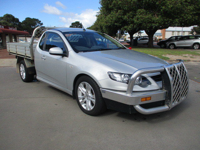 Used Ford Falcon XR6 Katanning, 2011 Ford Falcon XR6 Silver 6 Speed Automatic Utility