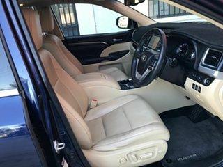 2014 Toyota Kluger GSU55R Grande AWD Blue 6 Speed Sports Automatic Wagon