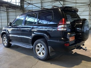2004 Toyota Landcruiser Prado GRJ120R GXL Black 5 Speed Automatic Wagon