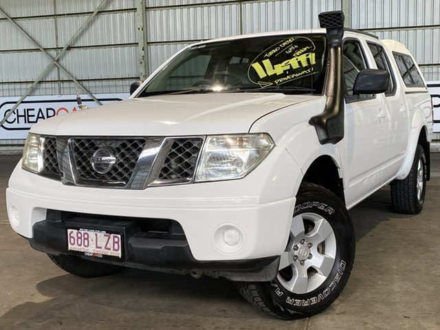 Used Nissan Navara D40 ST-X Rocklea, 2009 Nissan Navara D40 ST-X White 6 Speed Manual Utility