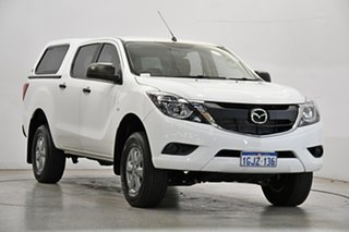 2017 Mazda BT-50 UR0YG1 XT 4x2 Hi-Rider White 6 Speed Sports Automatic Utility