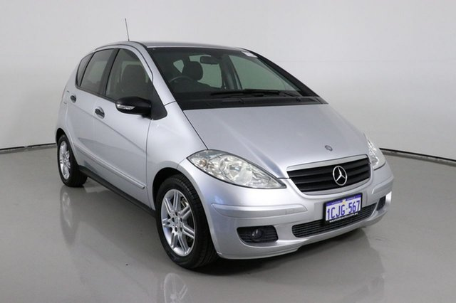 Used Mercedes-Benz A170 W169 Classic Bentley, 2006 Mercedes-Benz A170 W169 Classic Silver 5 Speed Manual Hatchback
