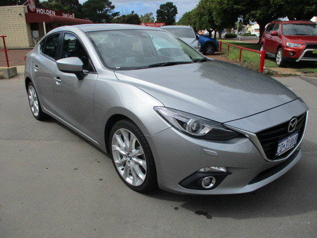 Used Mazda 3 GT Katanning, 2014 Mazda 3 GT Grey 6 Speed Automatic Sedan