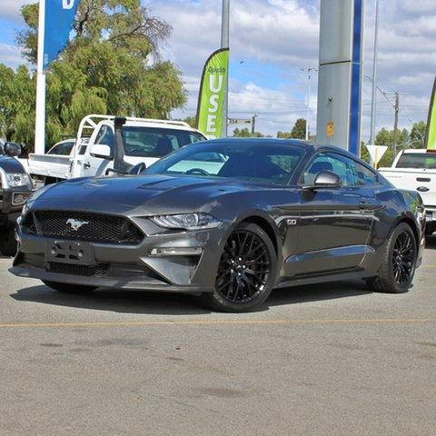 Used Ford Mustang FN 2020MY GT Midland, 2019 Ford Mustang FN 2020MY GT Grey 10 Speed Sports Automatic Fastback