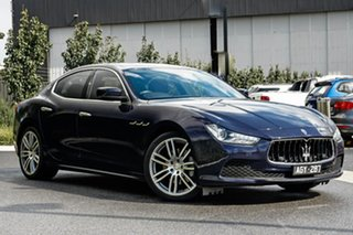 2015 Maserati Ghibli M157 MY15 Blue 8 Speed Sports Automatic Sedan