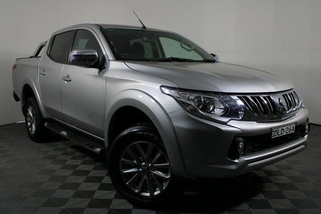 Used Mitsubishi Triton MQ MY16 GLS Double Cab Wayville, 2016 Mitsubishi Triton MQ MY16 GLS Double Cab Sterling Silver 6 Speed Manual Utility