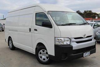 2015 Toyota HiAce KDH221R High Roof Super LWB White 4 Speed Automatic Van