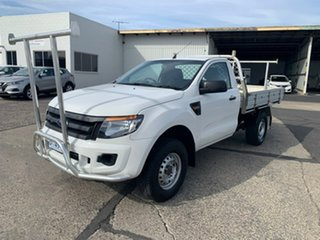 2014 Ford Ranger PX XL White 6 Speed Manual Utility