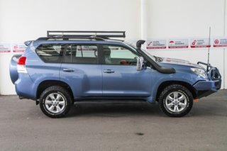2010 Toyota Landcruiser Prado KDJ150R GXL Blue Storm 5 Speed Sports Automatic Wagon