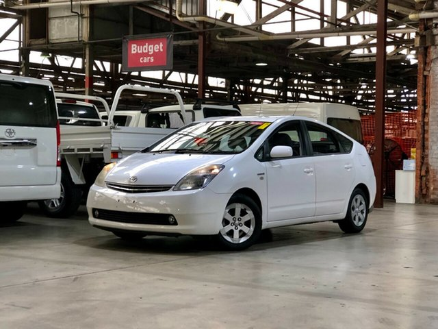 Used Toyota Prius NHW20R Mile End South, 2006 Toyota Prius NHW20R White 1 Speed Constant Variable Liftback Hybrid