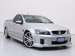 2007 Holden Commodore VE SS-V Silver, Chrome 6 Speed Manual Utility.