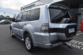 2017 Mitsubishi Pajero NX MY17 GLS Silver 5 Speed Sports Automatic Wagon.