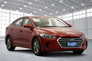 2018 Hyundai Elantra AD MY18 Active Red 6 Speed Sports Automatic Sedan.