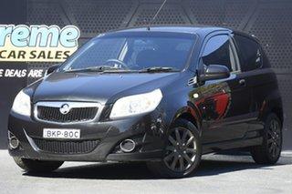 2009 Holden Barina TK Black 5 Speed Manual Hatchback.